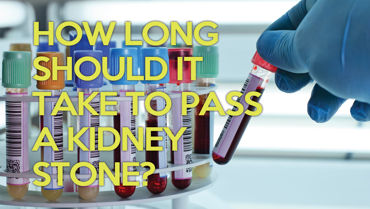 How Long Should It Take To Pass A Kidney Stone St Pete Urology