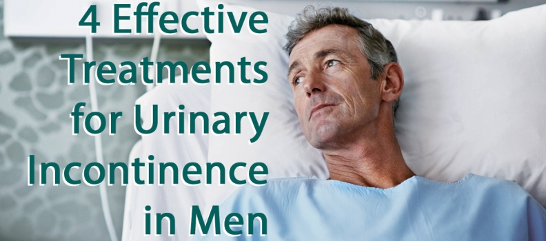 4 Effective Treatments for Urinary Incontinence in Men