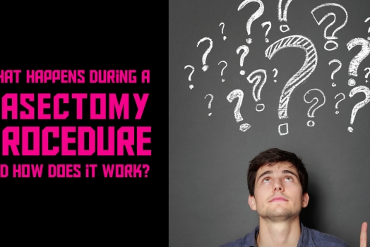What happens during a vasectomy procedure and how does it work?